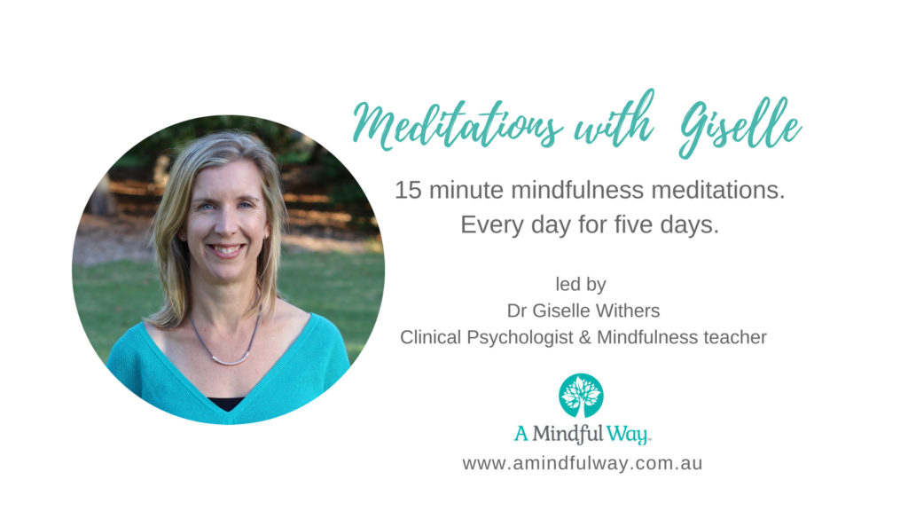 Meditations with Giselle